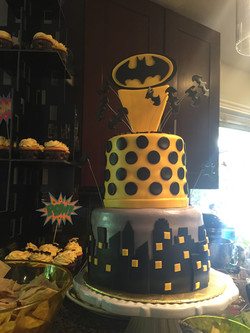 Batman inspired cake