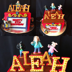Sing Character cake