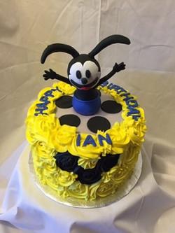 Oswald inspired cake
