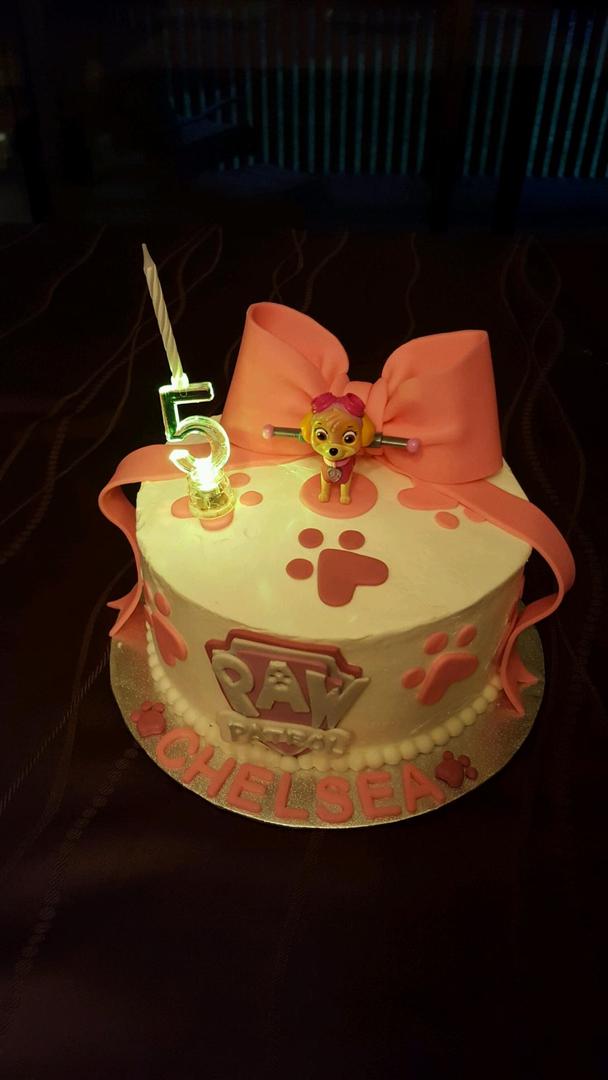 Cartoon inspired cake