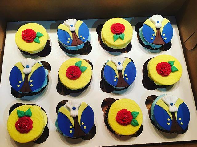 Cupcakes Belle/Beast