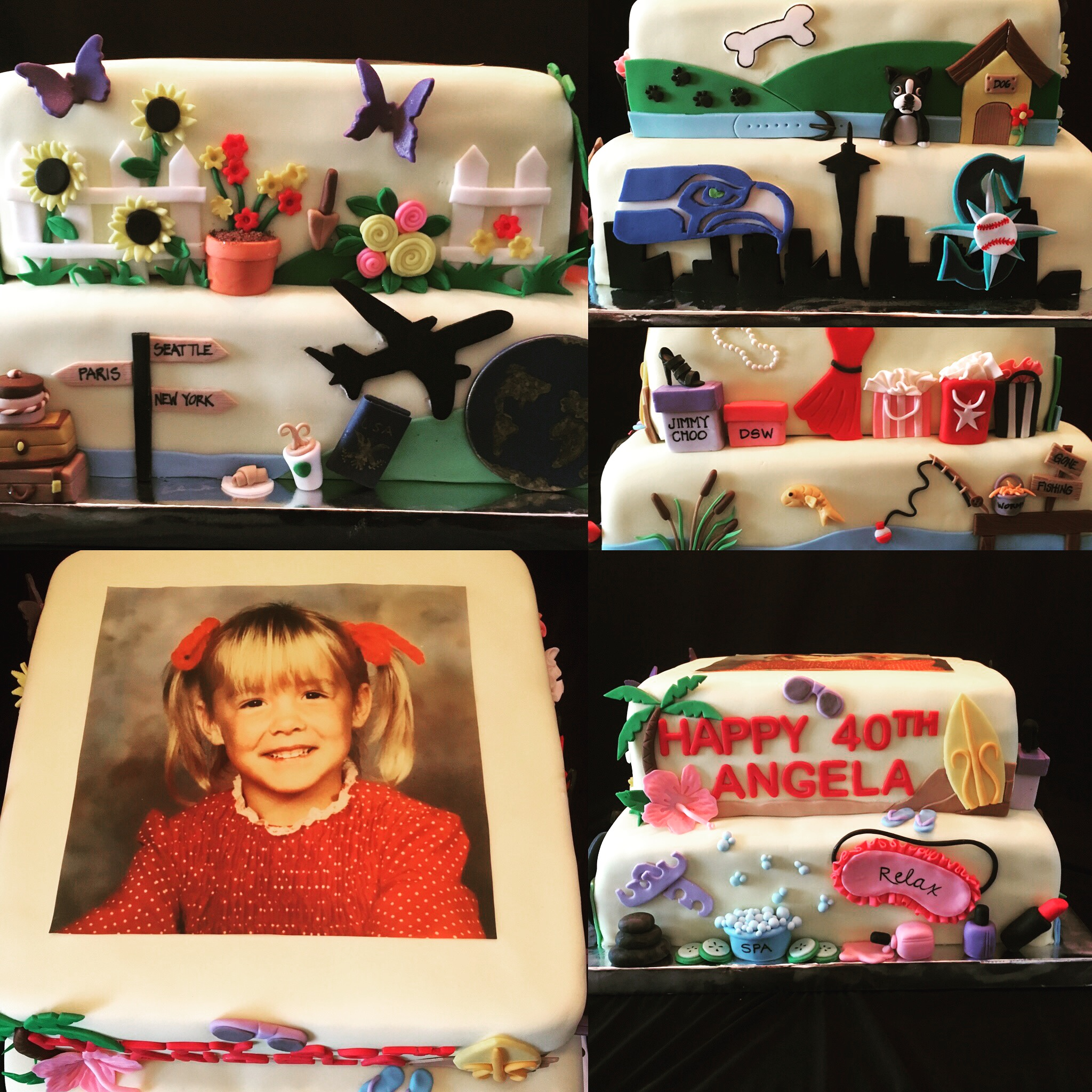 Her Favorite things cake