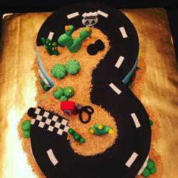 Cars 3 cake