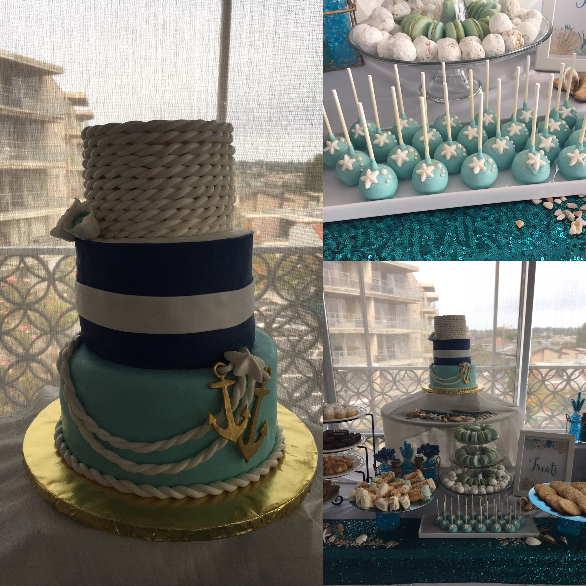 Under the Sea-nautical cake