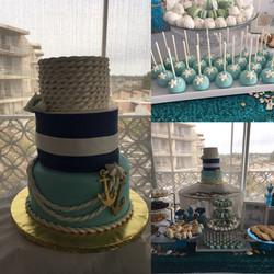 Under the Sea-nautical cake