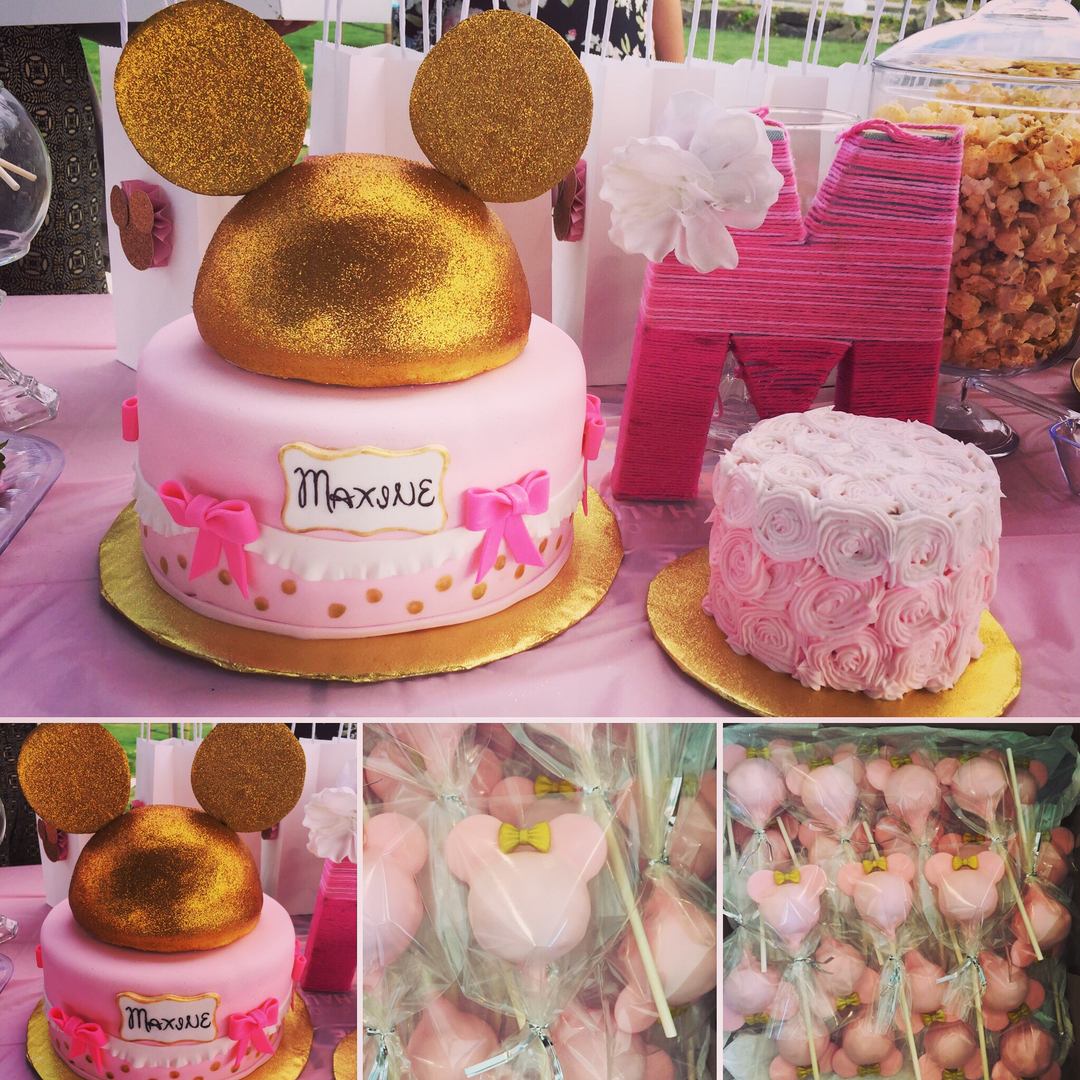 Sparkle Mouse cakes & Smash cake