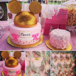 Sparkle Mouse cakes & Smash cake