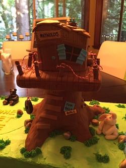 Tree House cake