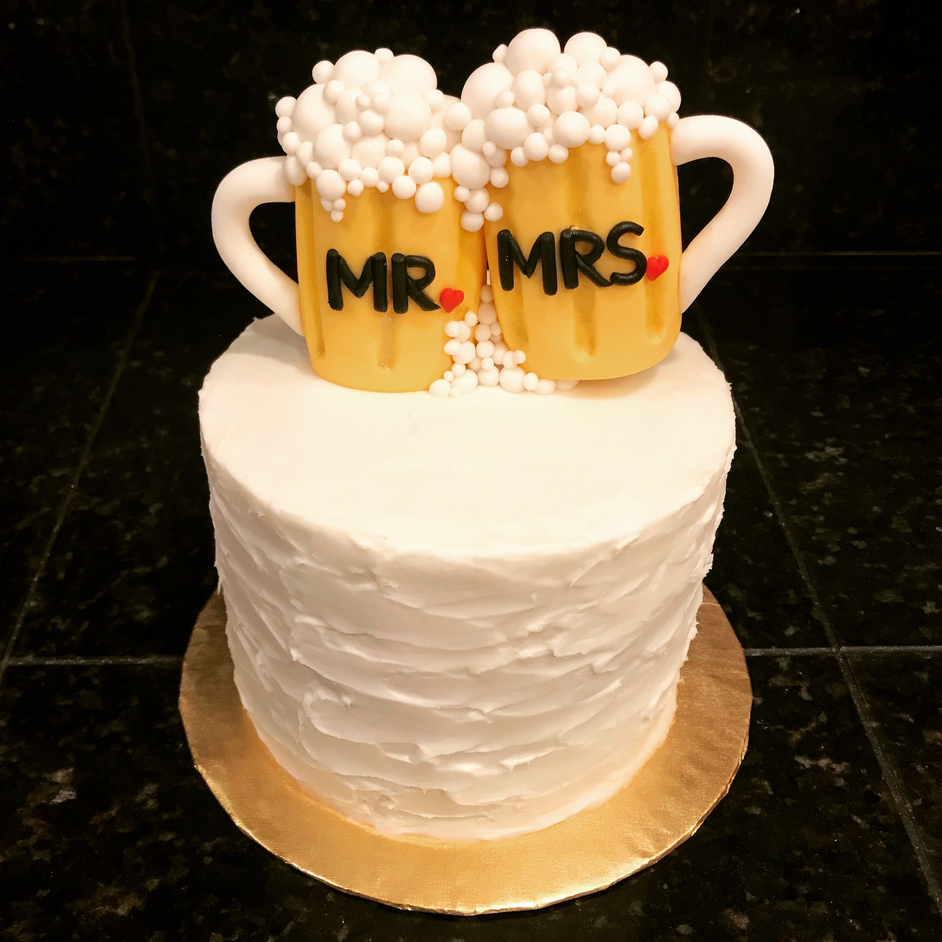 Beer mug wedding