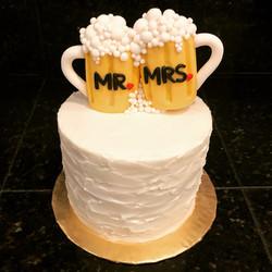 Beer mug wedding
