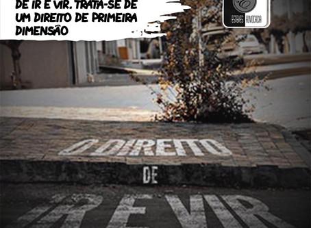 Direito Fundamental de ir e vir e Pandemia Coronavírus e suas restrições de liberdade.