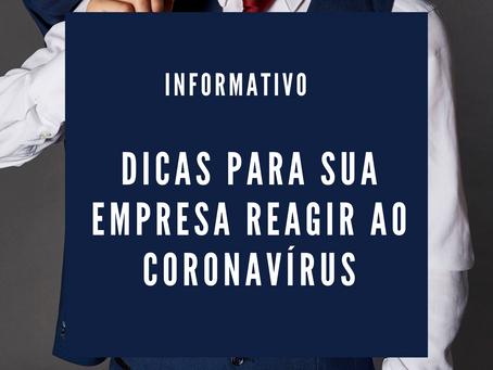 Como sua empresa pode reagir ao coronavírus?
