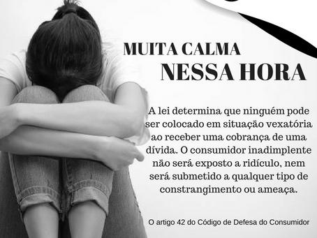 MUITA CALMA NESSA HORA