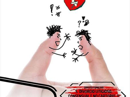 5. Divórcio Litigioso, Consensual e no Cartório, o que muda entre um e outro?