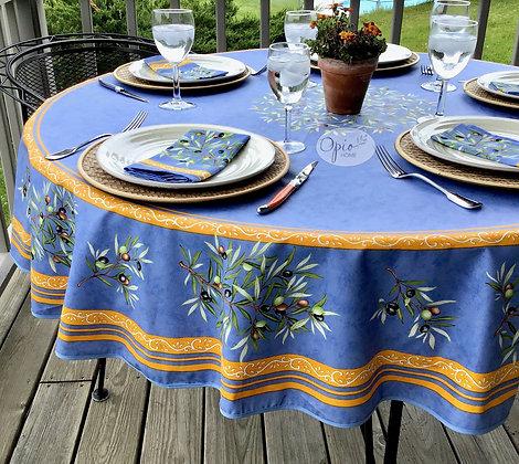 Clos des Olivier - Blue Round Coated Cotton  -  $79