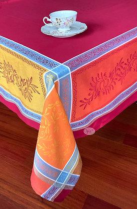 Olivia Carmen Jacquard Tablecloth