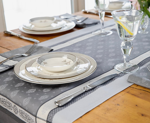 Vaucluse Pearl Table Runner