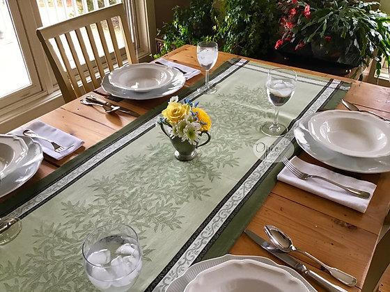 Olives Green Table Runner