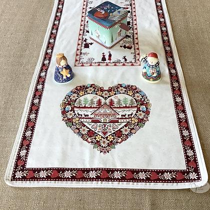 Plagne  Ivory Tapestry Runner