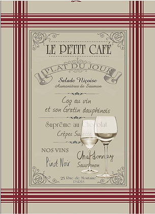 Le Petit Cafe Tea Towel