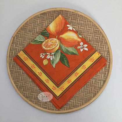 Citron Orange Napkin - set of two