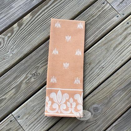 Bee Tea Towel -Orange
