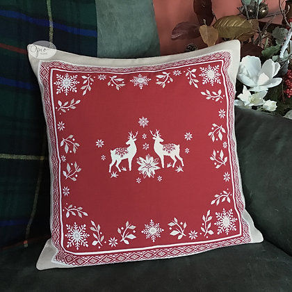Vallee Red Pillow