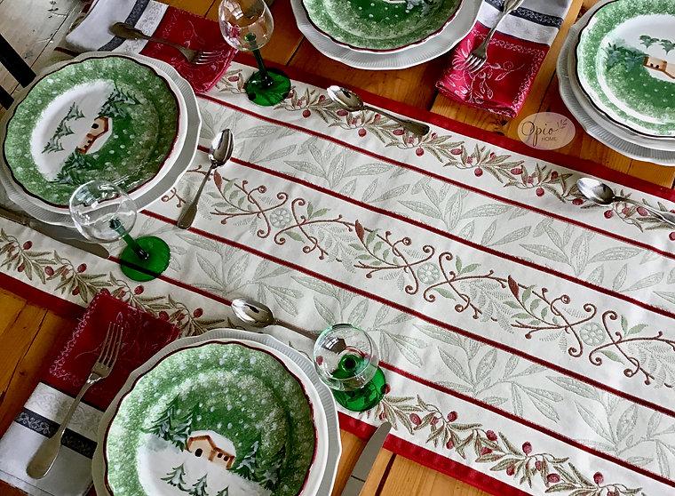 Auriol Red Tapestry Runner