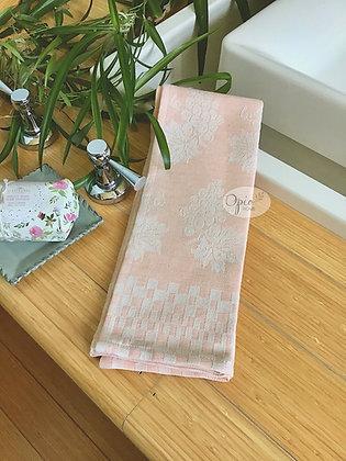 Grappolo Tea Towel -Salmon