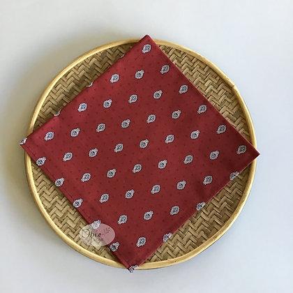 Bastide Red Allover Napkin - set of two