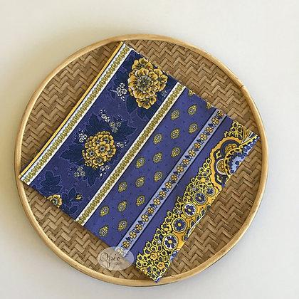 Bastide Lavender Striped Napkin - set of two
