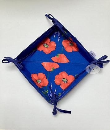 Blue Poppy Basket