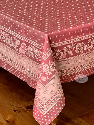 Durance Jacquard Tablecloth - Red