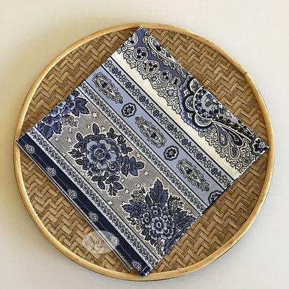 Bastide Blue Stripe Napkin - set of two