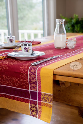 Cassis Red Table Runner
