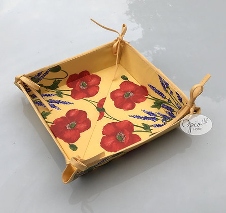 Yellow Poppy Basket