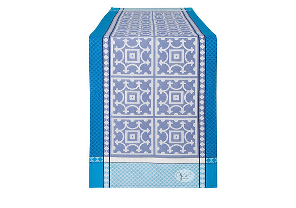 Marius Blue Table Runner