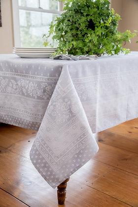 Durance Jacquard Tablecloth - Silver  $79-159