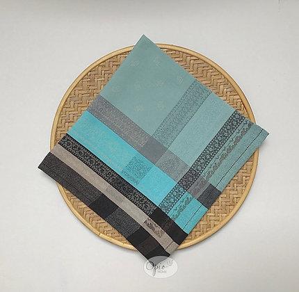 Kashmir Blue Jacquard Napkin - set of two