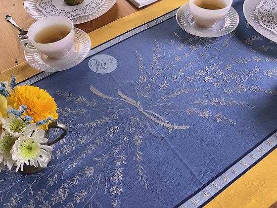 Grignan Blue/Yellow Table Runner