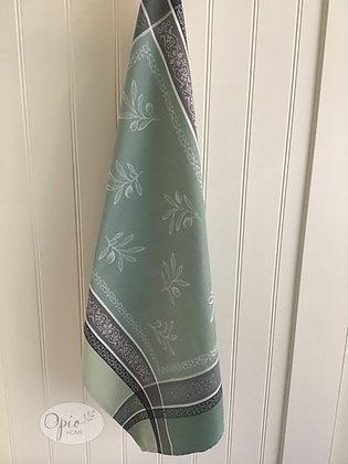 Olivia Tea Towel -Sage