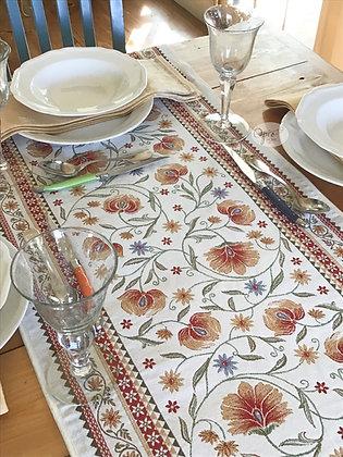 Sillans Red Tapestry Runner
