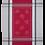 Thumbnail: Olivia Tea Towel -Grey/Red