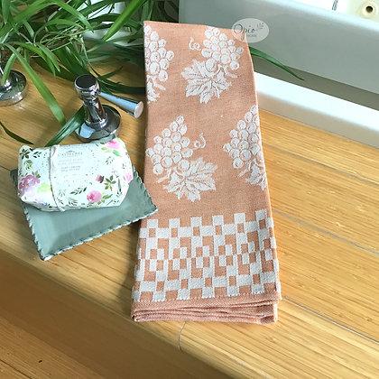 Grappolo Tea Towel - Orange