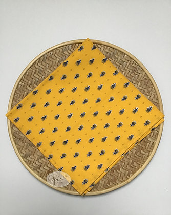 Avignon Yellow Napkin - set of two