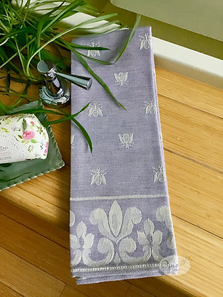 Bee Tea Towel - Lavender
