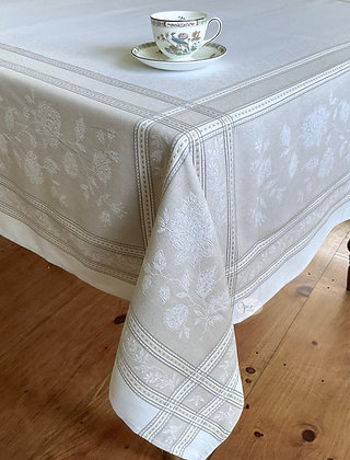 Ramatuelle Lin Jacquard Tablecloth