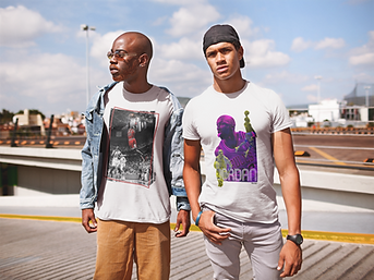 mockup-of-two-friends-wearing-t-shirts-a