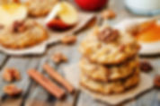 Oat, apple and walnut cookies.jpeg