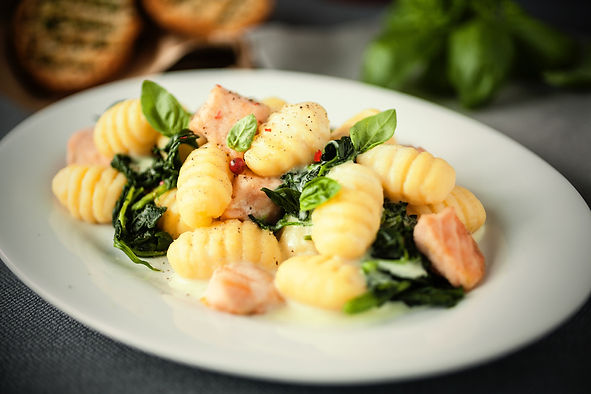 Salmon,gnocchi and spinach.jpeg